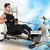 Ruderzugmaschine mit Rudergerät Widerstand Körper Glider Innen Home Ausstattung Bauchbrust Arm Fitnesstraining Ausdauer (Farbe : Mehrfarbig, Größe : Einheitsgröße) - 5