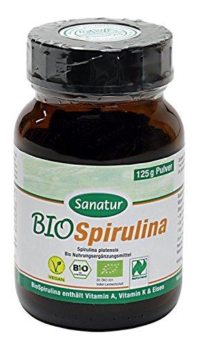 allcura Bio Spirulina Pulver, 125 g Pulver