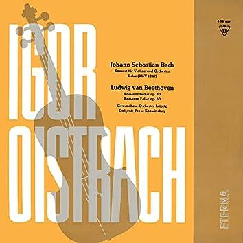 Bach: Konzert für Violine und Orchester No. 2 / Romanzen für Violine und Orchester No. 1 & 2