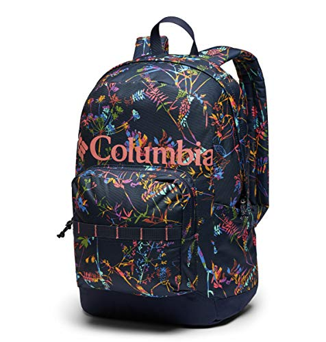 Columbia Zigzag 22L Backpack, Dark Nocturnal Art Bouquet, One Size