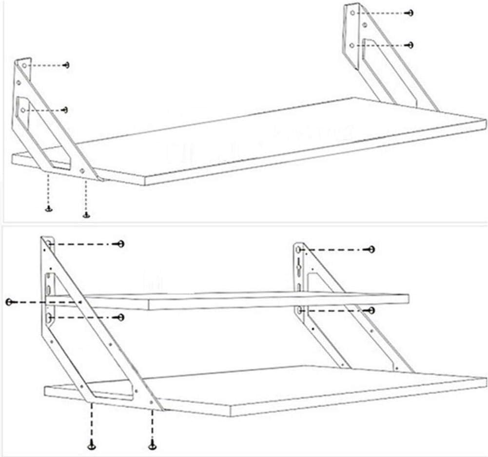 staffe angolari per armadietti da letto x-large 1 pezzo staffa di supporto per mensole colore: argento in acciaio inox staffa di collegamento mensola staffe ad angolo retto - Soundwinds