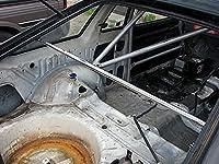 カワイ製作所 リヤピラーバー サニー B310 3dr車、Cピラー取り付け穴要確認
