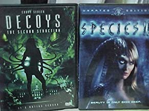 Decoys the Second Seduction , Species III : Sexy Alien Horror Widescreen 2 Pack Collection