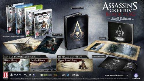 Assassin's Creed IV : Black Flag - skull edition [import anglais]