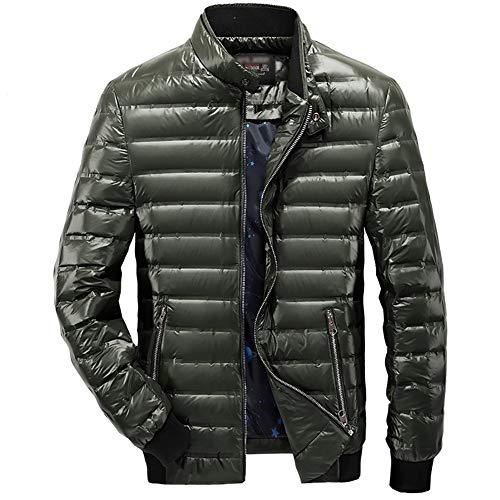 YZY heren donsjack, winterwarmer mantel outdoor vrije tijd verdikke bovenkleding voor kamperen en wandelen