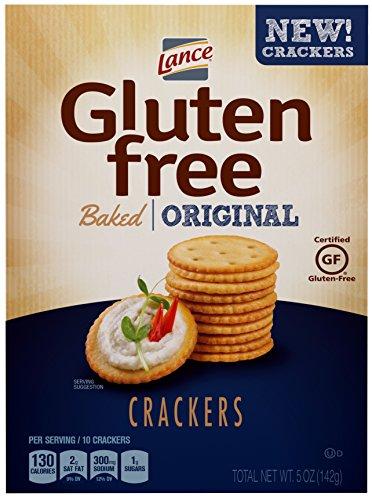 Lance Gluten Free Baked Crackers, Original, 5 Oz