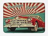 Alfombra de baño Havana, diseño Vintage, clásico Coche Retro,...