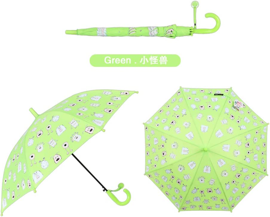 Color Changing Stick Umbrella unisex Selling and selling Green