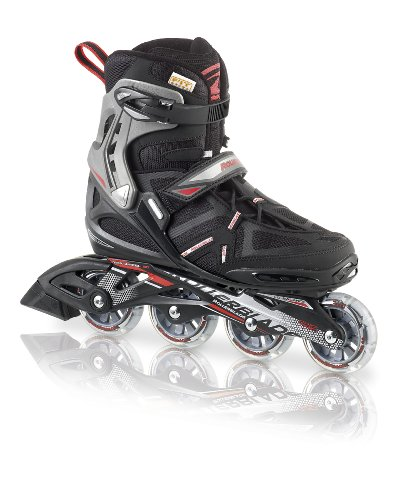 Rollerblade 07311400 741 Rollers pour Homme Spark Comp Taille 42 Rouge/Noir Taille 44