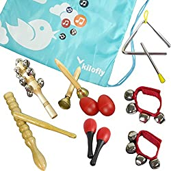 Kids Mini Band Musical Instruments Rhythm Toys Value Pack