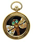 Urushi Maki-e JOGA - Reloj de bolsillo con libélula