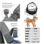 ZHOVAEAL Pet Carrier Dog Cat Hand Free Sling Carrier Outdoor Travel Sling Shoulder Bag for Dogs Cats Walking Subway Daily Use (Fits Small Animals Less Than 9lb Pink) 11