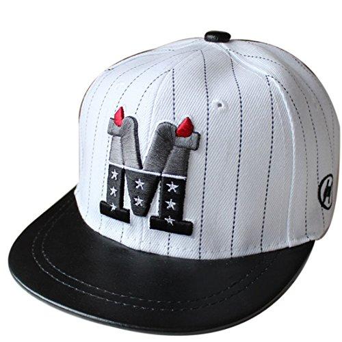 Belsen Kind Baby Teufel Ox Horn Baseball Kappen Cap Truckers Hat (weiß Kinder)
