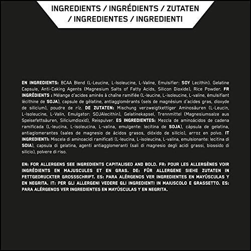 Optimum Nutrition BCAA 1000- 400 Kapseln , 1er Pack (1 x 400 g) - 9