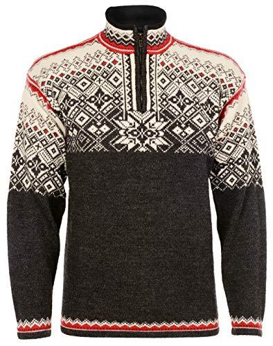 Norlender Men's Norwegian Wool Narvik Pullover Sweater (L) Charcoal