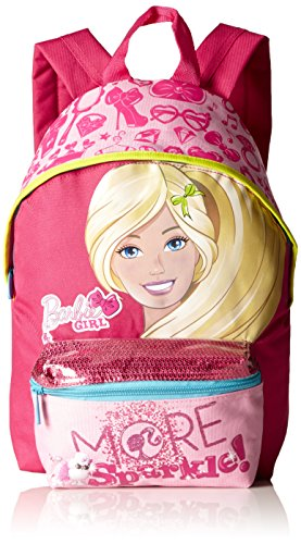 Barbie - Sparkle Zaino Scuola, Small, Asilo, Rosa, 9 Litri