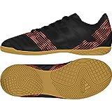 Adidas Nemeziz Tango 17.4 In J, Zapatillas de fútbol Sala Unisex niño, Negro (Negbas/Negbas/Rojsol 000), 28 EU