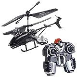 Simulus Helikopter: Ferngesteuerter 4-Kanal-Mini-Hubschrauber mit 5 Rotoren und Gyroskop (RC Heli)