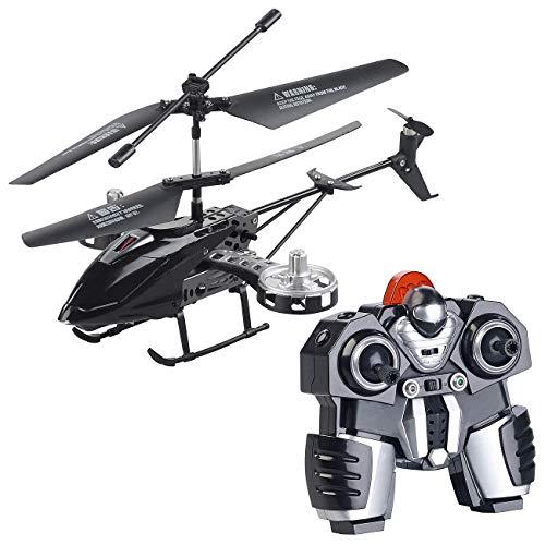 Simulus Helikopter: Ferngesteuerter 4-Kanal-Mini-Hubschrauber mit 5 Rotoren und Gyroskop (Helicopter)