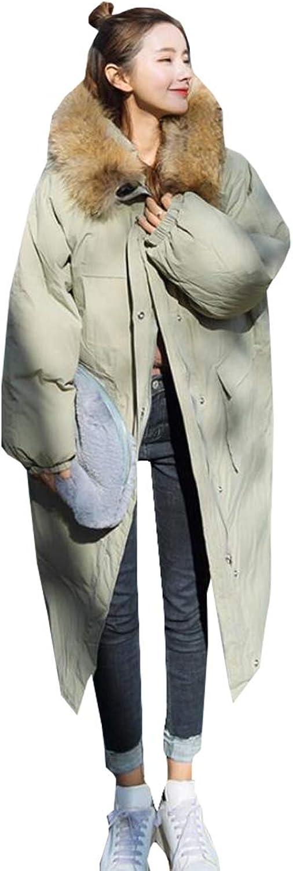 Esast Womens Warm Thicken Warm Down Jacket Light Puffer Hooded Down Jacket Coat