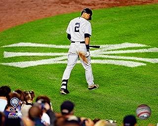 New York Yankees Derek Jeter. The Captain Plays His Last Game At Yankee Stadium 8x10 Photograph Picture. (logo)