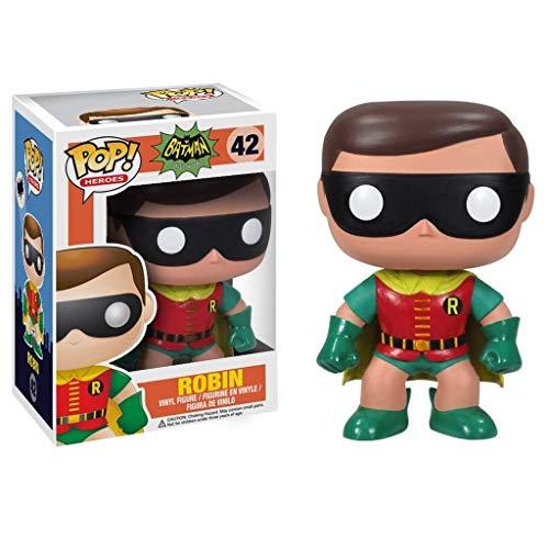 YYBB Figura Pop!DC Comics: Batman 1966 Serie de TV - Robin 1966 Vinilo Decorativo Figura Regalos Colección Juguetes 3,9 Pulgadas Figurines