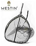Westin W3 CR Landing Net XL Kescher für Hecht, Zander, Waller, Karpfen, Unterfangkescher,...