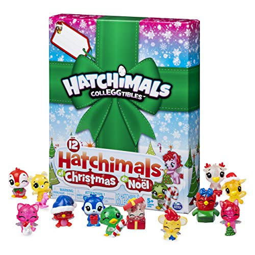 Hatchimals CollEGGtibles, 12 of Christmas Surprise Gift Set, for Kids Aged 5 and Up