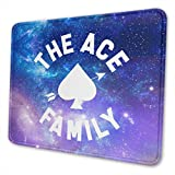 Marrh The Ace Family Mouse Pad Pattern Mousepad Non-Slip Rubber Gaming Mouse Pad Rectangle Mouse Pads for Computers Laptop8.3 X 10.3 in