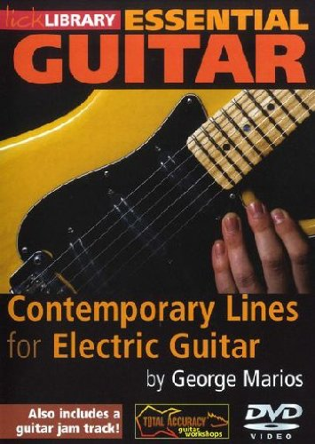 Essential Guitar - Contemporary Lines for Electric Guitar by George Marios