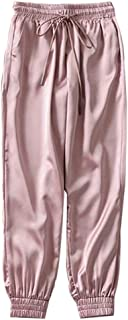 U/A Estate Raso Cargo Pantaloni Donne Sciolto Casual Sport Donne Jogger Streetwear Cargo Pantaloni Donne