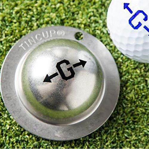 Modelos de Herramientas de alineación de marcadores Personalizados de Pelota de Golf de Acero Inoxidable Kit de alineación de Golf Herramienta de Marcador de Pelota de Golf para una Mejor alineación