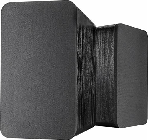 Check Out This Insignia - Powered Bookshelf Speakers (Pair) - Black