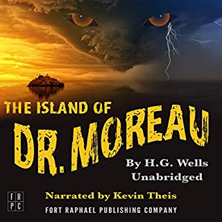 The Island of Doctor Moreau - Unabridged                   By:                                                                                                                                 H. G. Wells                               Narrated by:                                                                                                                                 Kevin Theis                      Length: 5 hrs and 8 mins     2 ratings     Overall 3.5