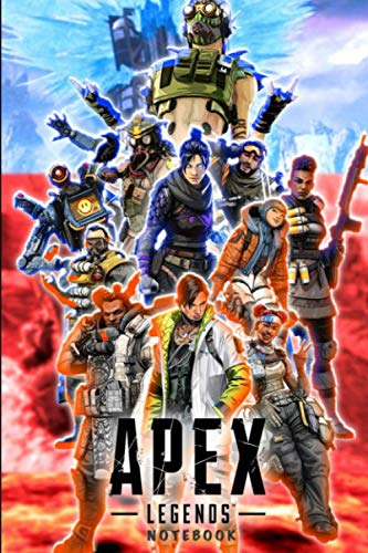 Apex Legend Notebook: Journal for Writing, College Ruled Size 6' x 9', 110 Pages