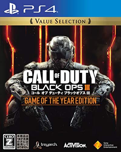 【PS4】コール オブ デューティ ブラックオプス III ゲーム オブ ザ イヤー エディション Value Selection ...