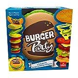 Goliath Games Burger Party - Juego Familiar para niños de 6 años, diseño Sencillo y rápido, Multicolor