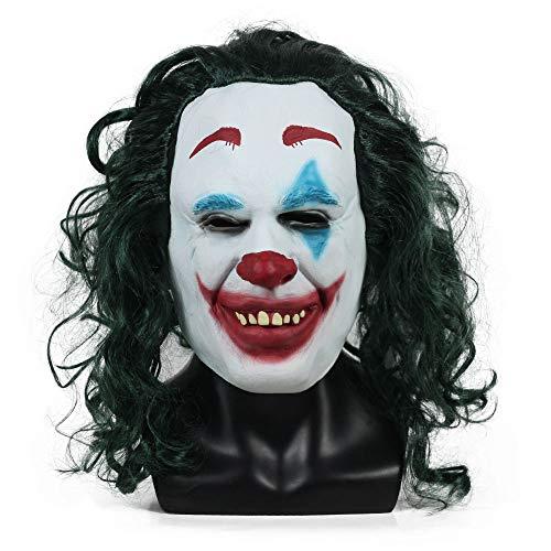 XDDXIAO Accesorio de Vestuario de la película Joker Mask