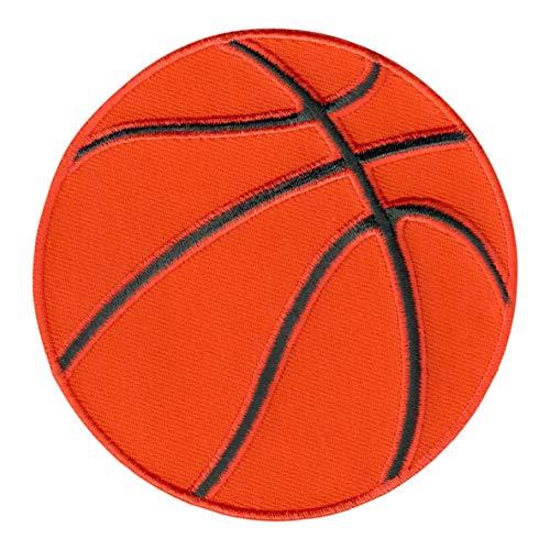 PatchMommy Pelota de Baloncesto Balón Parche Termoadhesivo Parche Bordado para Ropa - Parches Infantiles y Apliques para Niños