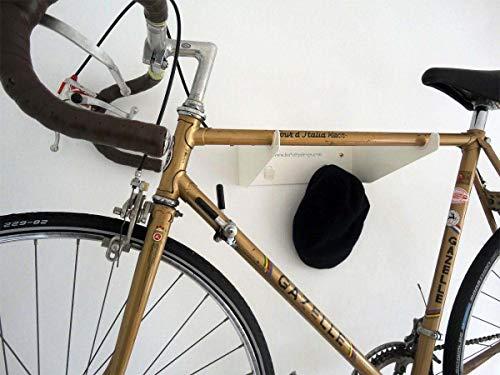 The 69444 Bike Holder/Indoor Bike Storage/Bike Wall Mount/Bicycle Rack/Bicycle Storage/Cycle Storage - White - Made in India!