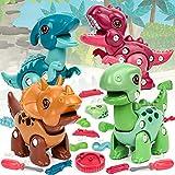 Vanplay Dinosaur Toy DIY Dinosaurio Juego Stem Juguete Educativo para Niños y Niñas de 3 a 7 Años