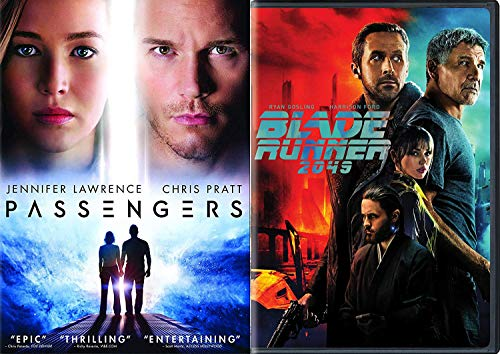 Potential Sci-Fi Double Feature Jennifer Lawrence Passengers + Blade Runner 2049 DVD Ryan Gosling Feature