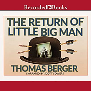 The Return of Little Big Man audiobook cover art