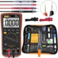 Auto Ranging Digital Multimeter for AC/DC Voltage AC/DC Current Amp/Ohm/Volt Multi Tester/Diode, Soldering Iron Kit 60W 110V Adjustable Temperature Welding Tool