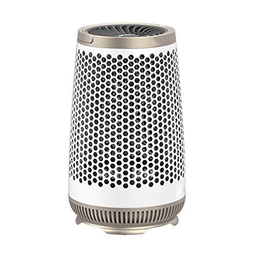 ZBJJ Calentador de ventilador a prueba de agua silencioso Dispositivo de calefacción de cerámica Calentador de protección contra sobrecalentamiento y volcado Estufa para oficina en el hogar 900 W HD09