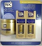 ROC Retinol Correcxion Deep Wrinkle NIght Cream 1.1oz -2 pack + BONUS 28 Daily Resurfacing Disks