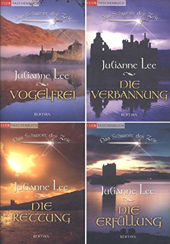 Das Schwert der Zeit, Bd. 1: Vogelfrei / Bd. 2: Die Verbannung / Bd. 3: Die Rettung / Bd. 4: Die Erfüllung