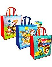 مجموعة حقائب باو باترول من نيكلوديون - لوازم حفلات باو باترول - عبوة من 3 قطع - حقيبة هدايا للحفلات بتصميم باو باترول للأطفال - مجموعة حقائب باو باترول للأطفال من نيك جونيور