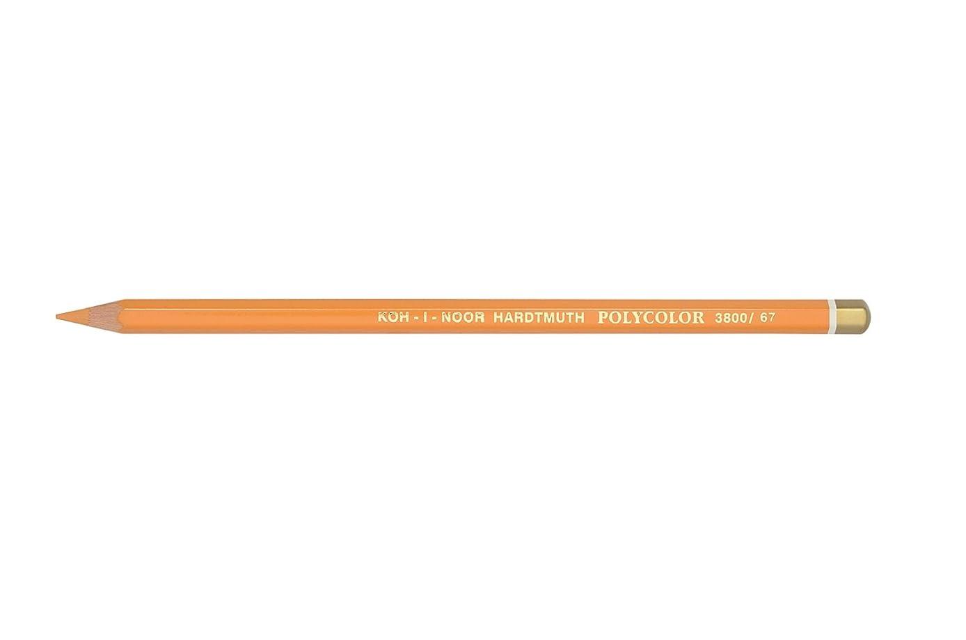Chartpak 3800067020KS 3800 Cadmium Orange Polycolor Pencil