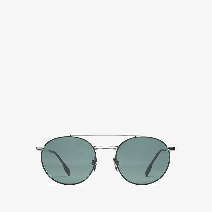 Burberry  0BE3109 (Gunmetal/Matte Green/Green) Fashion Sunglasses